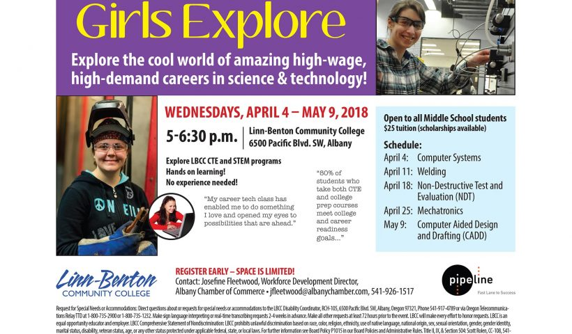 Girls Explore Careers