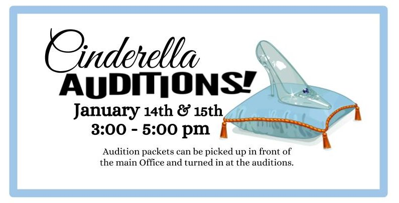Auditions for Cinderella