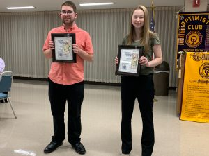 SAHS Optimist Club award winners