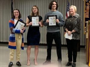 WAHS Optimist Club award winners